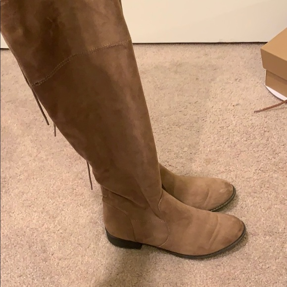 695ac39a590 American Eagle Outfitters Shoes - AE over the knee tie up boots suede